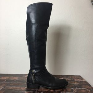 Steven by Steve Madden Tall Leather Boots
